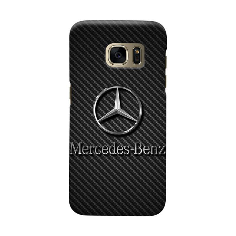 Indocustomcase Mercedes Benz On Carbon Cover Casing for Samsung Galaxy S6