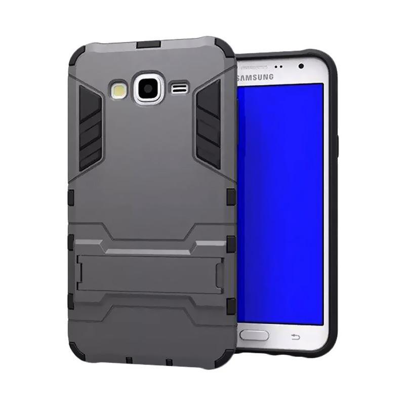 harga Jagostu Shield Armor Kickstand Avenger Series Casing for Samsung Galaxy Grand Prime G530 - Black