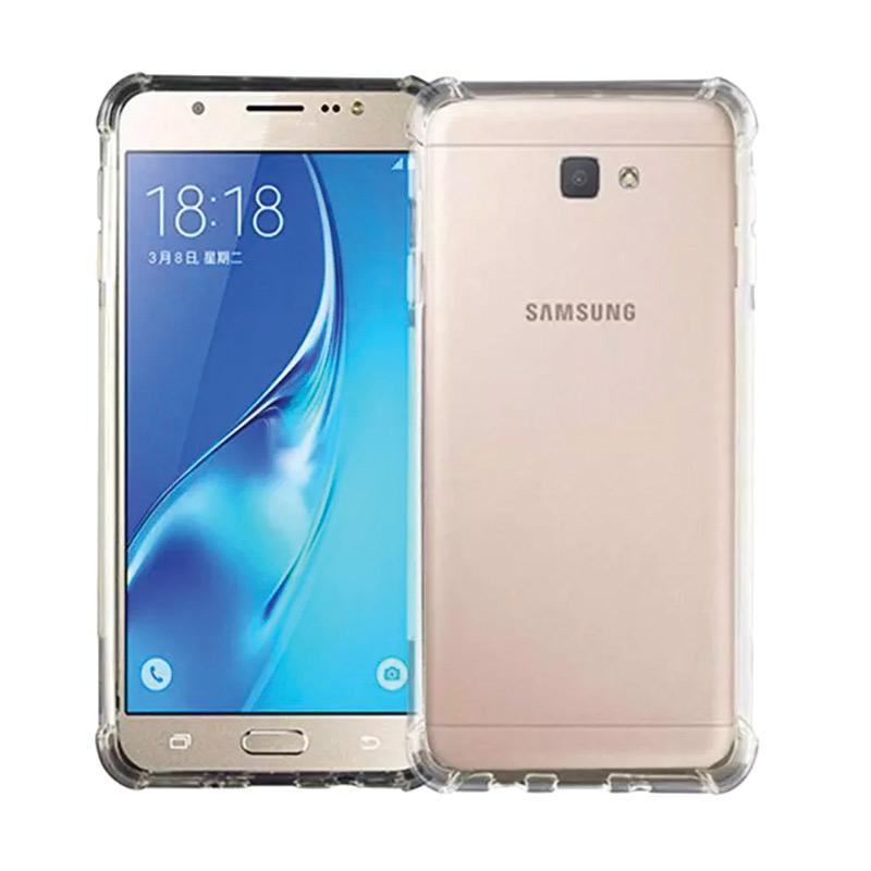 VR Softshell Softcase List Anti Shock Anti Crack Silicon for Samsung Galaxy J5 Prime - Black