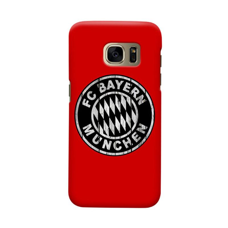 Indocustomcase Bayern Munchen FC BM02 Cover Casing for Samsung Galaxy S7 Edge