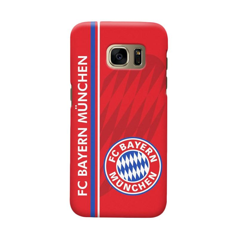 Indocustomcase Bayern Munchen FC BM04 Cover Casing for Samsung Galaxy S6 Edge