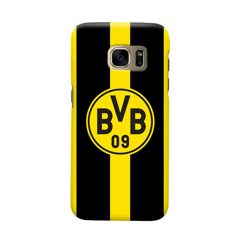 Indocustomcase Borussia Dortmund FC Cover Casing for Samsung Galaxy S6