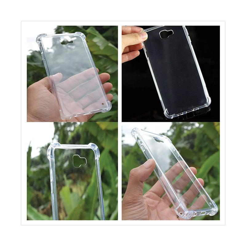 Jual QCF Softcase Anti Shock Anti Crack Silikon Casing for Samsung Galaxy J5 Prime - Hitam