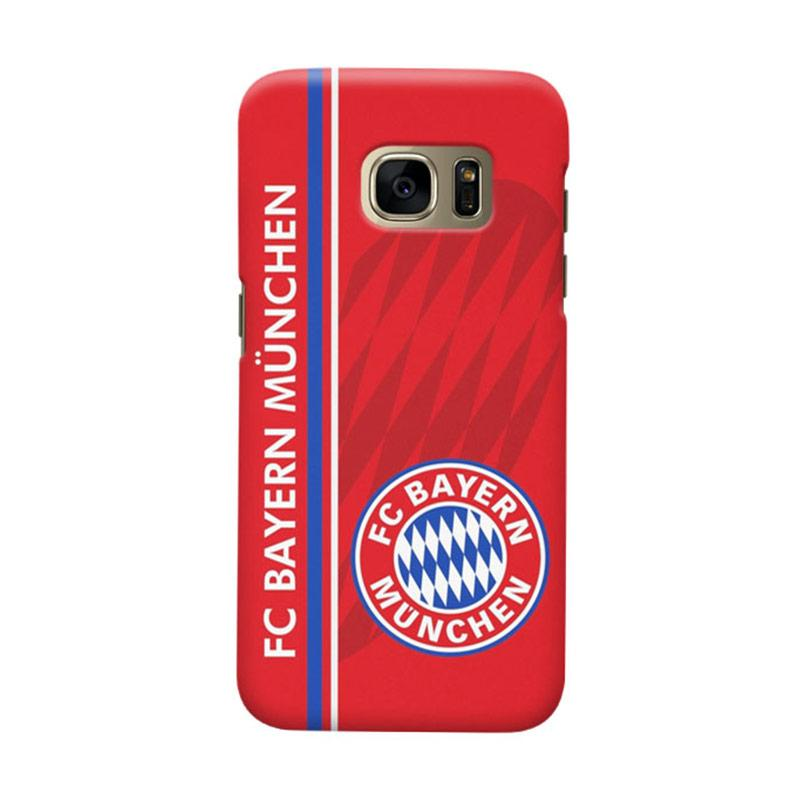 Indocustomcase Bayern Munchen FC BM04 Cover Casing for Samsung Galaxy S7 Edge