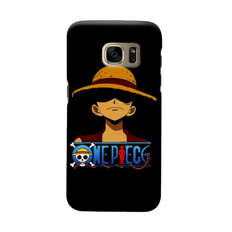 Indocustomcase Anime One Piece Character OP09 Cover Casing for Samsung Galaxy S7
