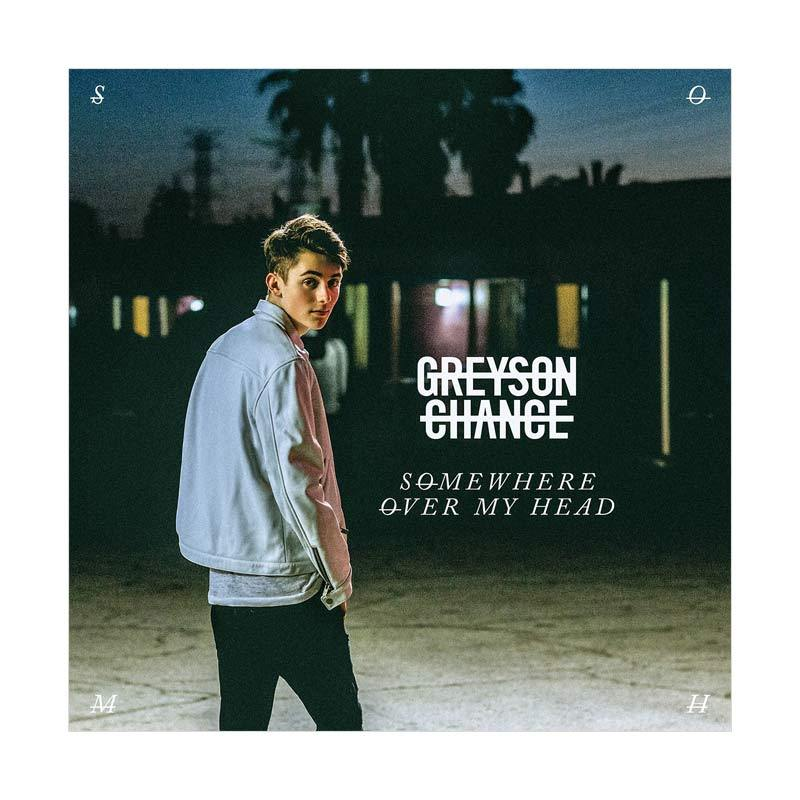 Universal Music Indonesia Greyson Chance Somewhere Over My Head CD Musik