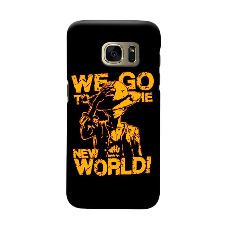 Indocustomcase We Go ToThe New World Cover Casing for Samsung Galaxy S6