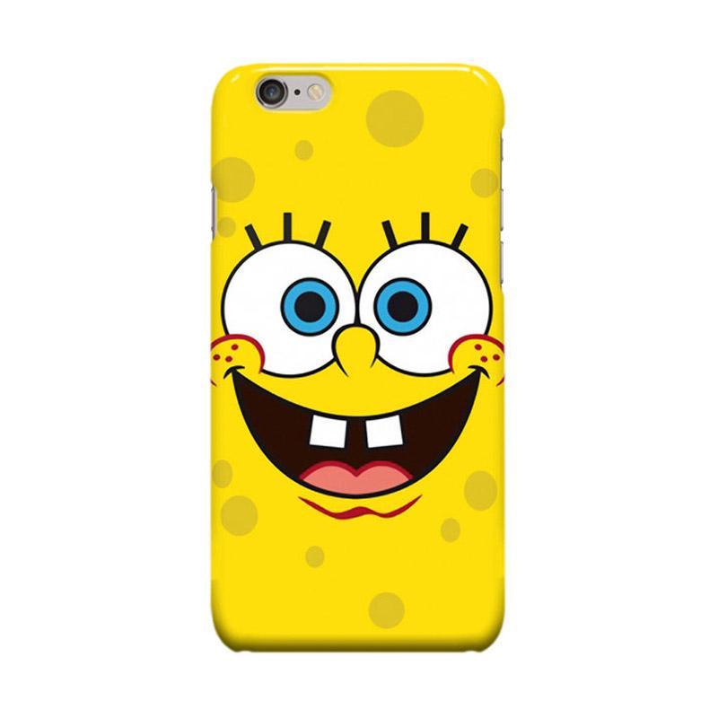 Indocustomcase Cartoon Spongebob ID01 Casing for Apple iPhone 6 Plus or 6S Plus