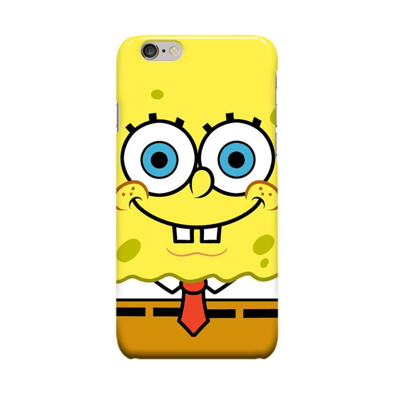 Indocustomcase Cartoon Spongebob ID02 Casing for Apple iPhone 6 Plus or 6S Plus