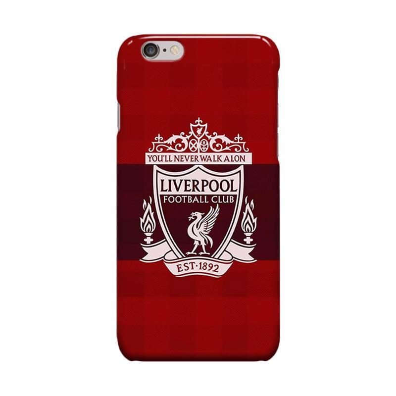 Indocustomcase Liverpool FC Logo RB02 Casing for Apple iPhone 6 Plus or 6S Plus
