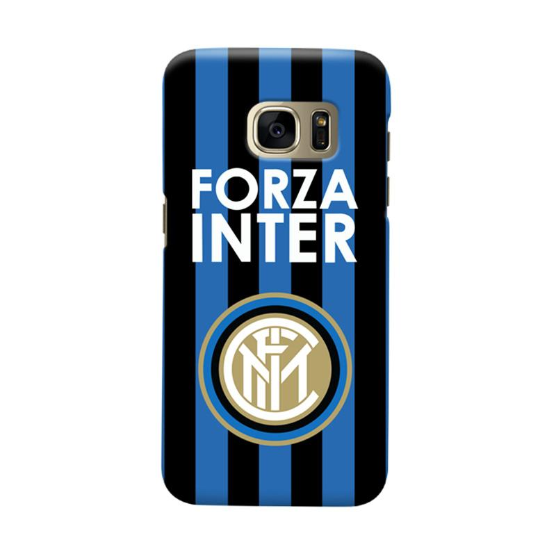 Indocustomcase FC internazionale Milan IM02 Cover Casing for Samsung Galaxy S7