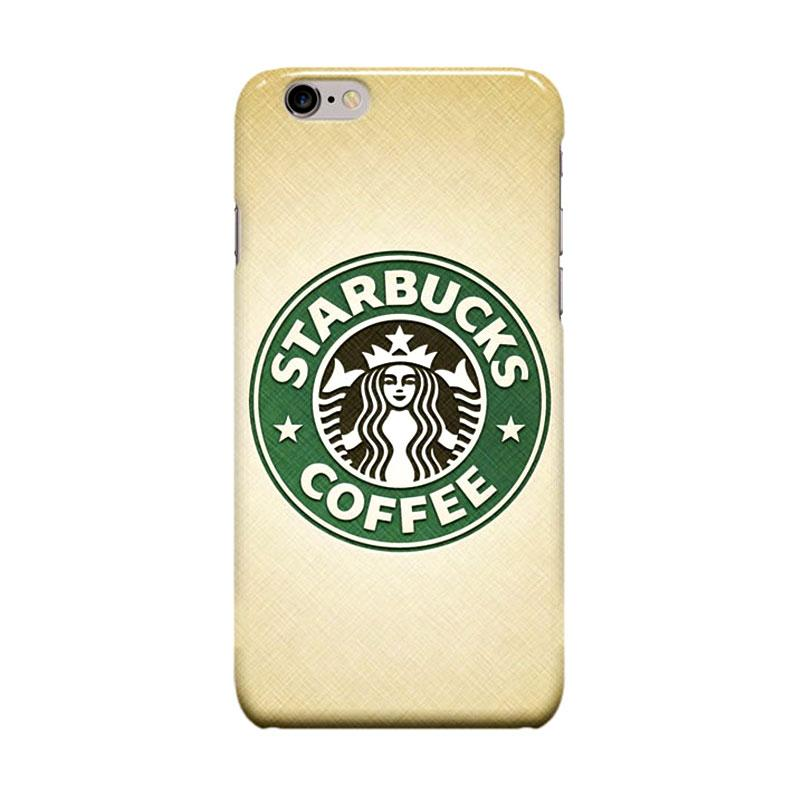 Indocustomcase Starbuck Logo Cover Casing for Apple iPhone 6 Plus or 6S Plus