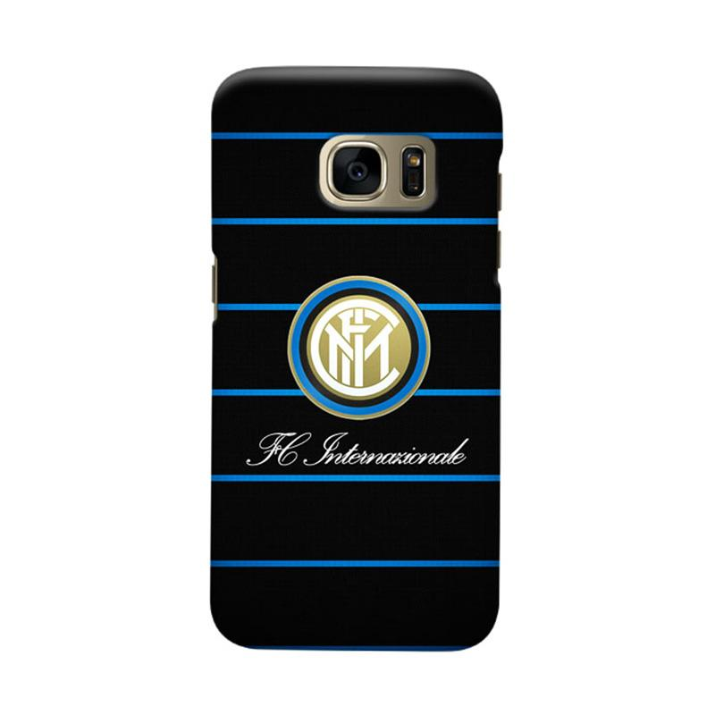 Indocustomcase FC internazionale Milan IM03 Cover Casing for Samsung Galaxy S7