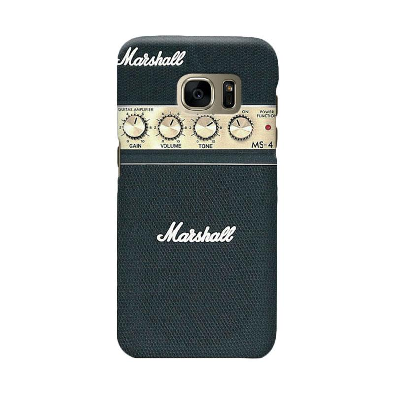 Indocustomcase Guitar Amplifier Marshall Cover Casing for Samsung Galaxy S6