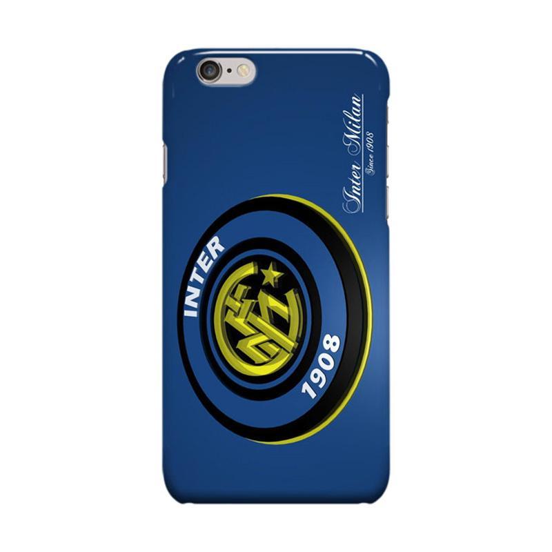 Indocustomcase Inter Milan FC Logo IM01 Casing for Apple iPhone 6 Plus or 6S Plus