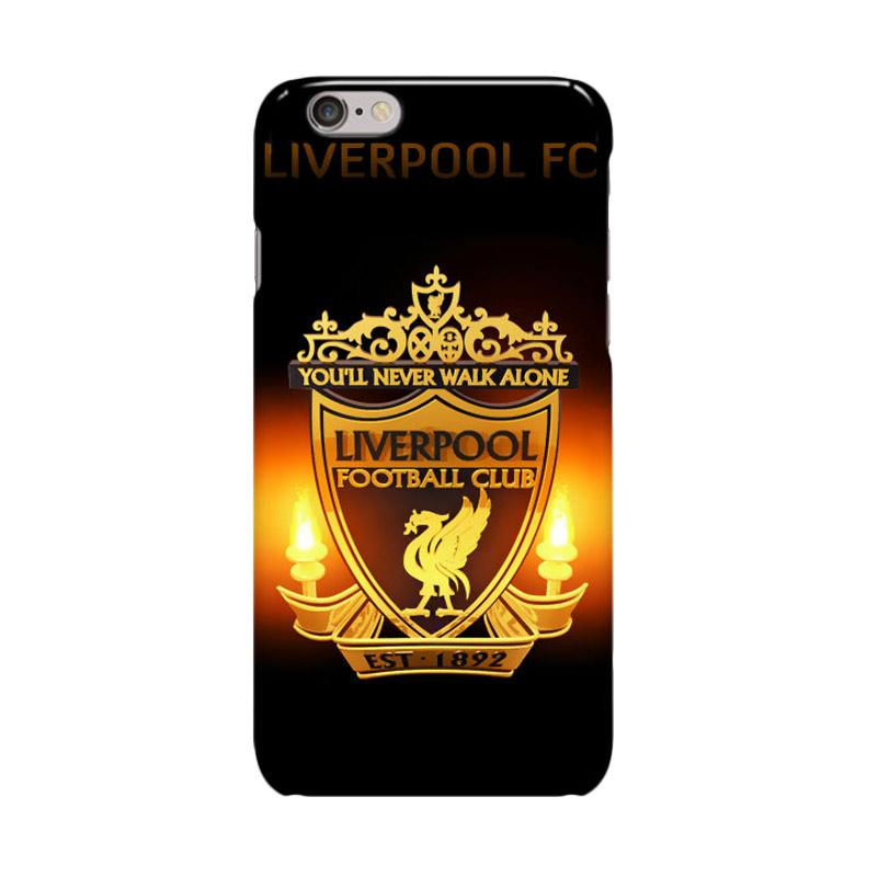 Indocustomcase Liverpool FC Logo RB04 Casing for Apple iPhone 6 Plus or 6S Plus