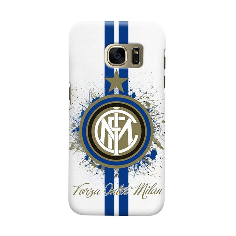 Indocustomcase FC internazionale Milan IM04 Cover Casing for Samsung Galaxy S7