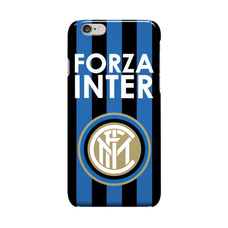Indocustomcase Inter Milan FC Logo IM02 Casing for Apple iPhone 6 Plus or 6S Plus