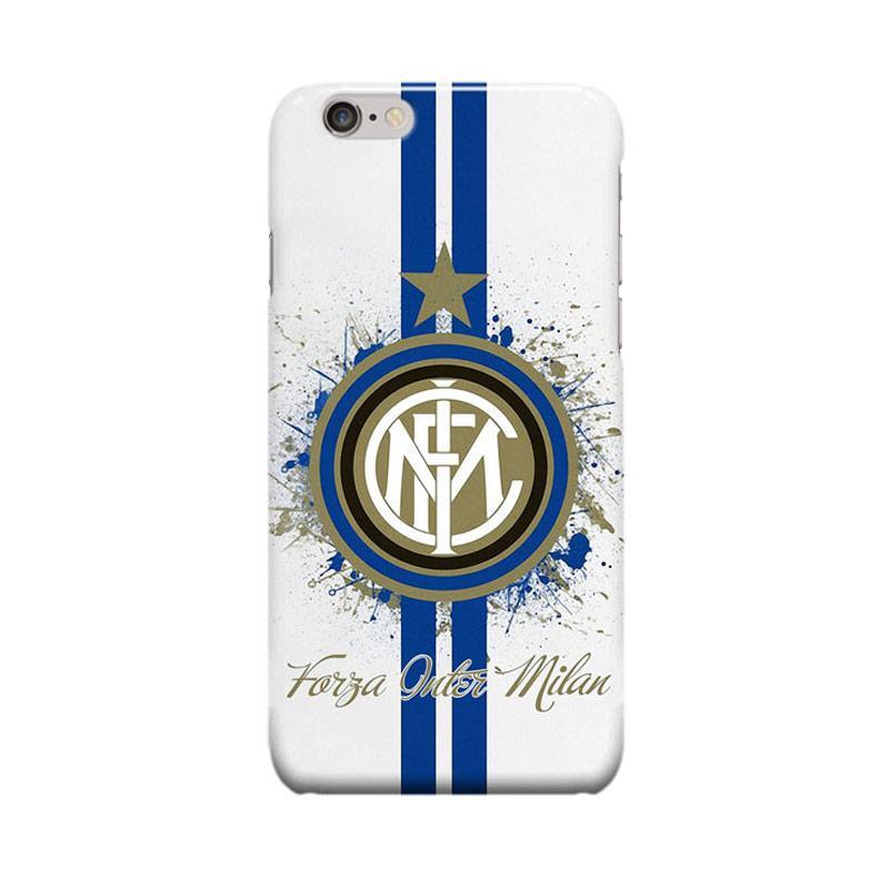 Indocustomcase Inter Milan FC Logo IM03 Casing for Apple iPhone 6 Plus or 6S Plus