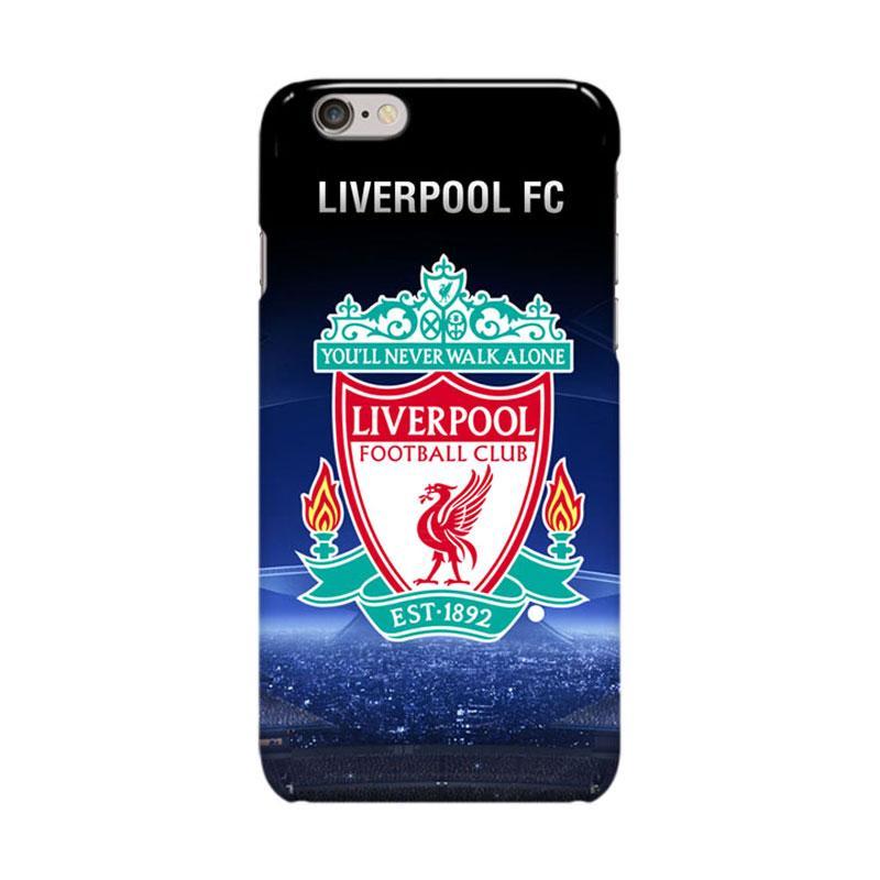 Indocustomcase Liverpool FC Logo RB07 Casing for Apple iPhone 6 Plus or 6S Plus