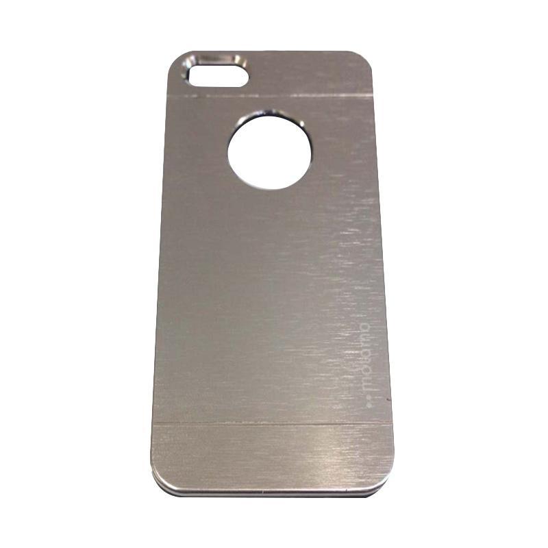 Motomo Metal Hardcase Backcase Casing for Apple iPhone6 Plus - Iphone 6 Ukuran 5.5 Inch - Silver