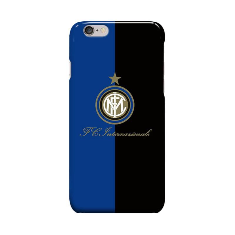 Indocustomcase Inter Milan FC Logo IM05 Casing for Apple iPhone 6 Plus or 6S Plus