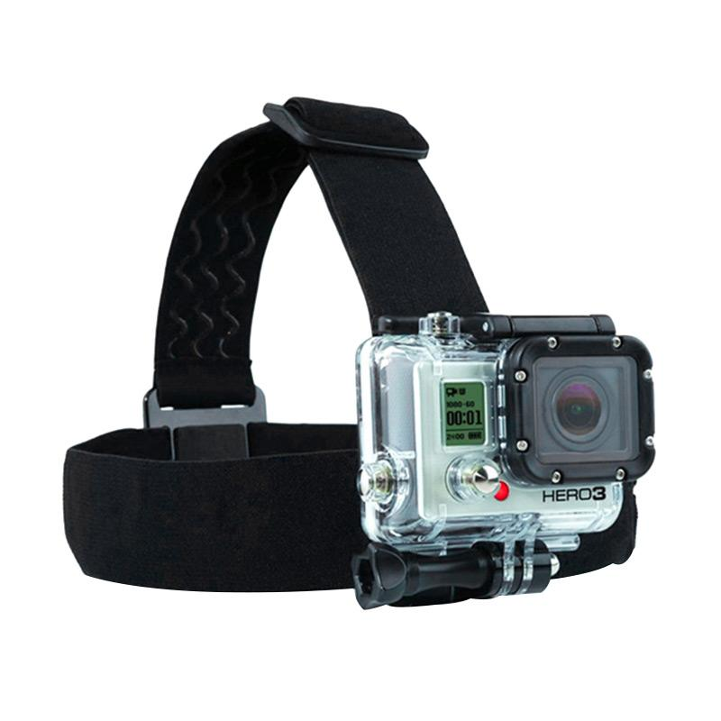 harga GoPro Action Cam Head Strap with 3 Stripe Anti Slide Glue for GoPro/Brica B-Pro/Xiaomi Yi Camera Blibli.com