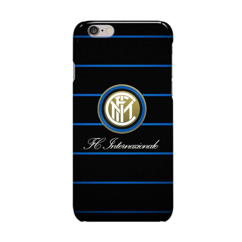 Indocustomcase Inter Milan FC Logo IM06 Casing for Apple iPhone 6 Plus or 6S Plus