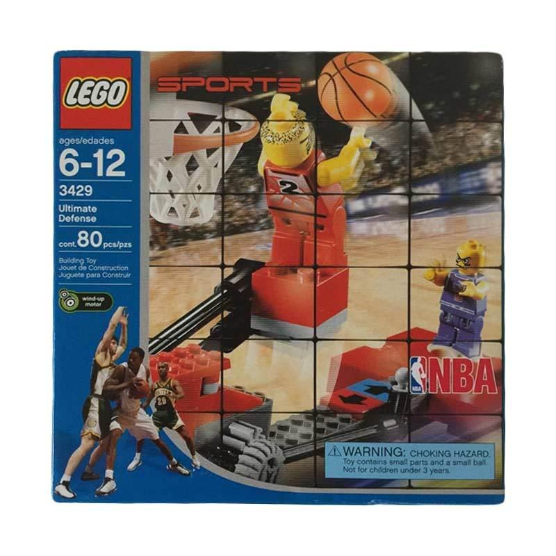 Lego Sports 3429 NBA Ultimate Defense New Sealed Box