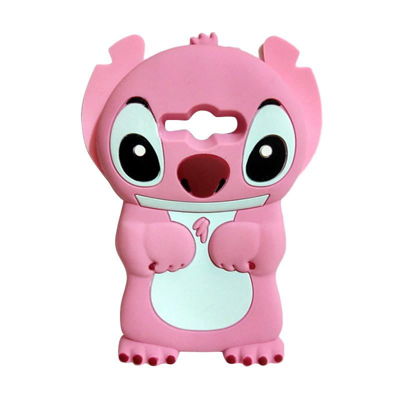 harga Priskilla Cell Case Silicon 3D Stitch Softcase Casing for Samsung  Galaxy J1 Ace - Pink ddbad654cd
