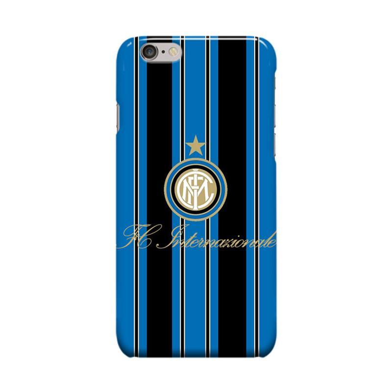 Indocustomcase Inter Milan FC Logo IM09 Casing for Apple iPhone 6 Plus or 6S Plus