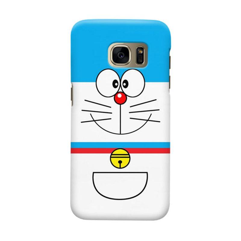 Indocustomcase Cartoon Doraemon RB Cover Casing for Samsung Galaxy S6 Edge