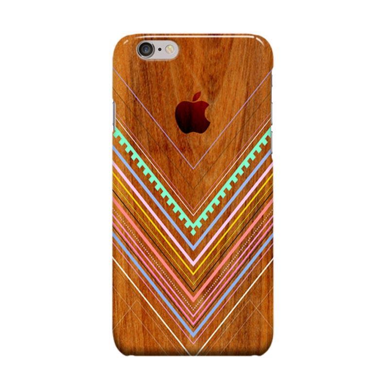Indocustomcase Aztec Arbutus Cover Casing for Apple iPhone 6 Plus or 6S Plus