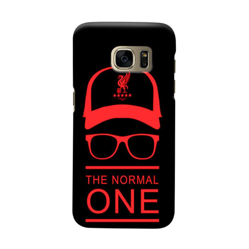 Indocustomcase Liverpool Logo LFC05 Cover Casing for Samsung Galaxy S7 Edge