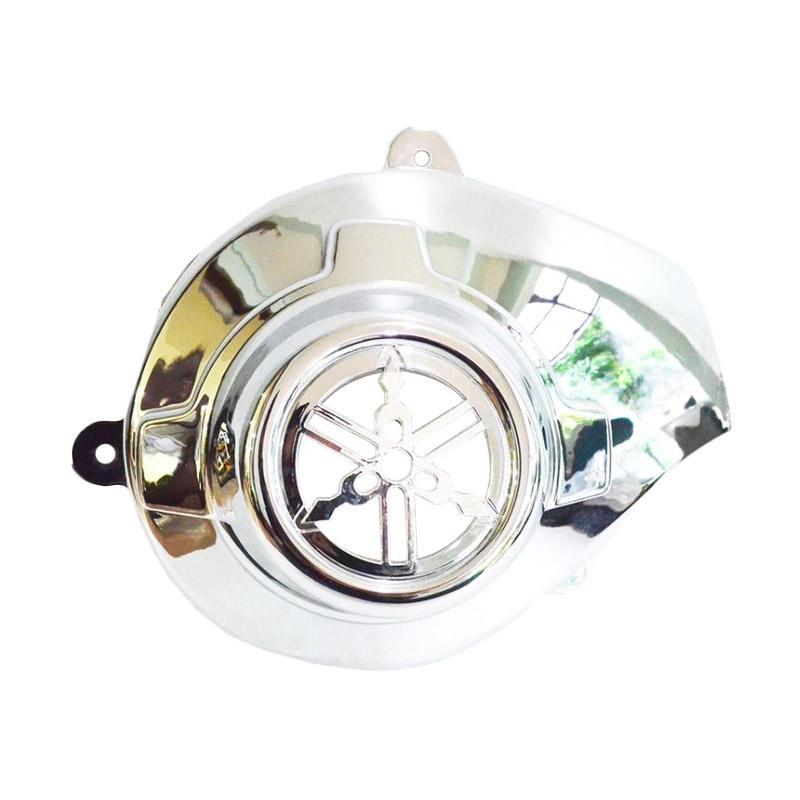 harga Raja Motor Aksesoris Motor Tutup Mesin Yamaha Mio J or Mio Soul - Chrome [TUM3012-Chrome] Blibli.com