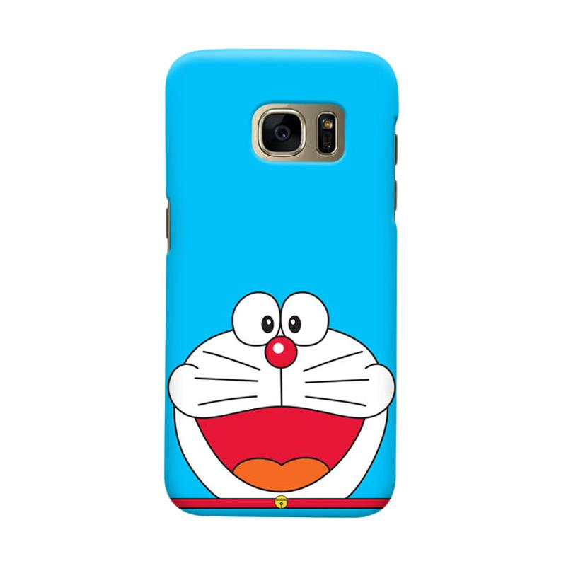 Indocustomcase Cartoon Doraemon SC Cover Casing for Samsung Galaxy S6 Edge