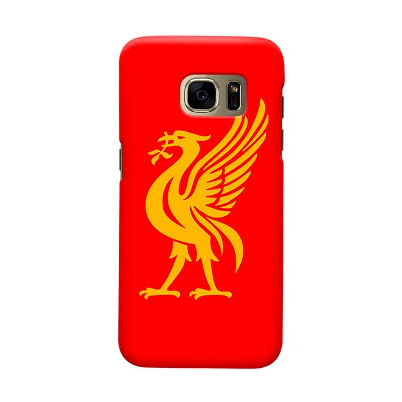 Indocustomcase Liverpool Logo LFC06 Cover Casing for Samsung Galaxy S7 Edge