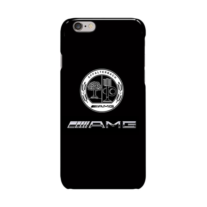 Indocustomcase Mercedes Benz AMG Logo Cover Casing for iPhone 6 Plus or 6S Plus