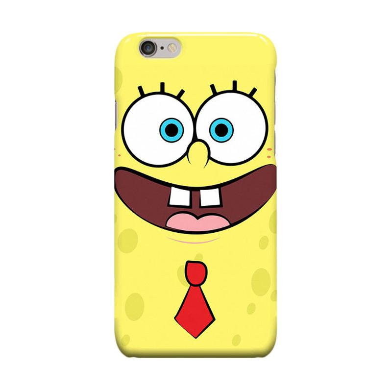 Indocustomcase Cartoon Spongebob ID03 Casing for Apple iPhone 6 Plus or 6S Plus