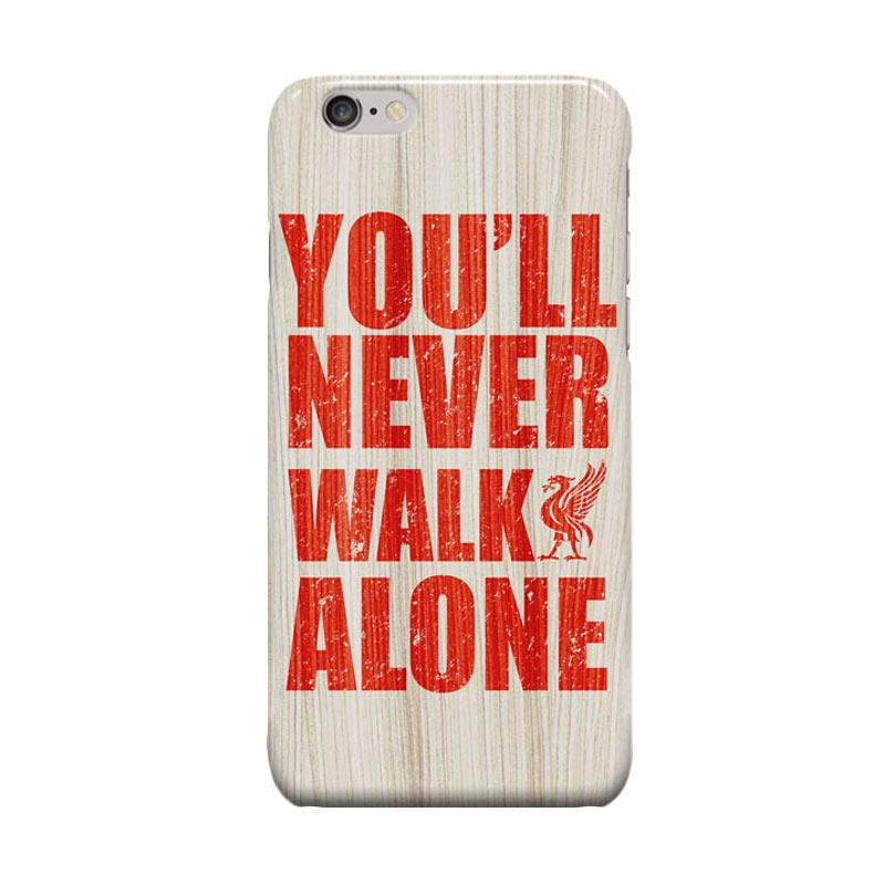 Indocustomcase Liverpool FC YNWA RB05 Casing for Apple iPhone 6 Plus or 6S Plus