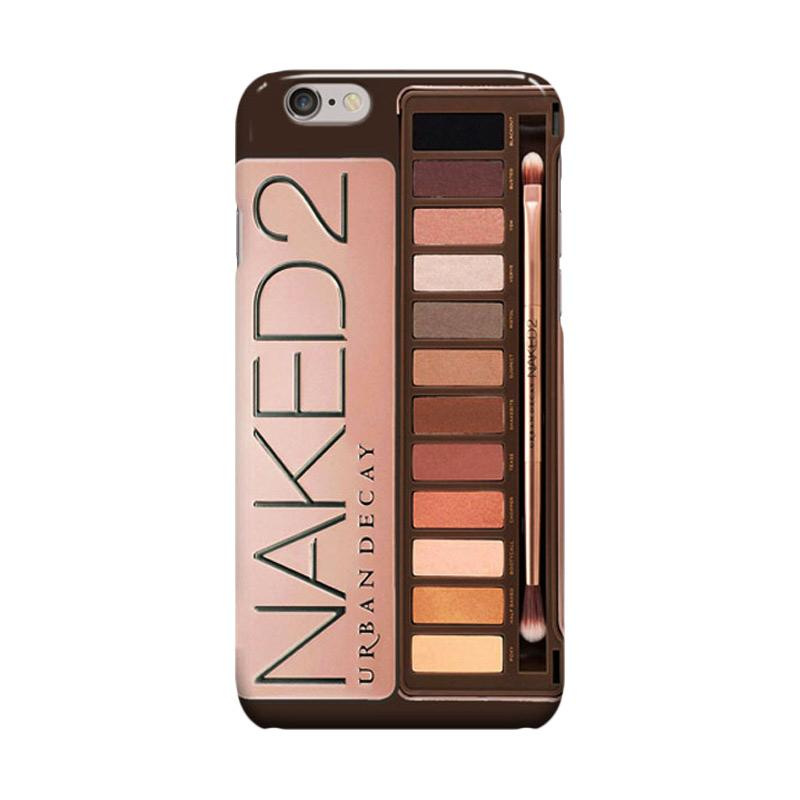 Indocustomcase Naked 2 Urban Decay Cover Casing for Apple iPhone 6 Plus or 6S Plus