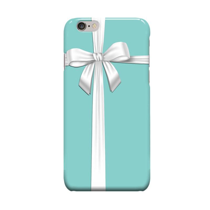 Indocustomcase Blue Tiffany Co Casing for Apple iPhone 6 Plus or iPhone 6S Plus