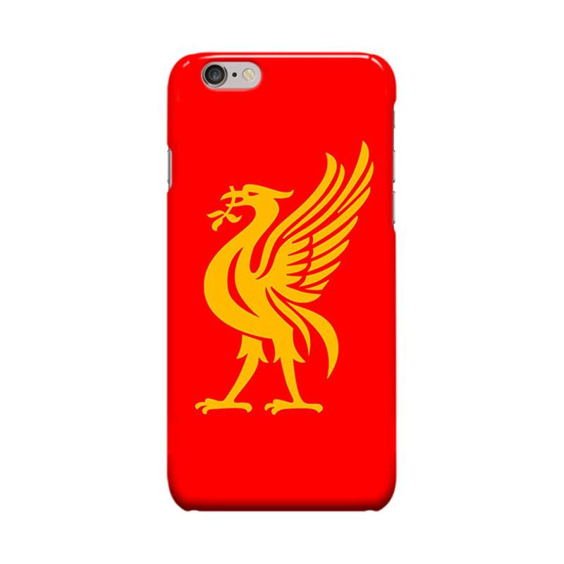 Indocustomcase Liverpool FC YNWA RB07 Casing for Apple iPhone 6 Plus or 6S Plus