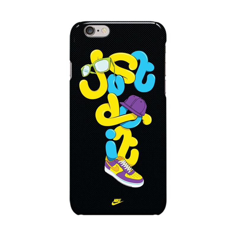 Indocustomcase Nike Just Do It Shoes Casing for Apple iPhone 6 Plus or 6S Plus