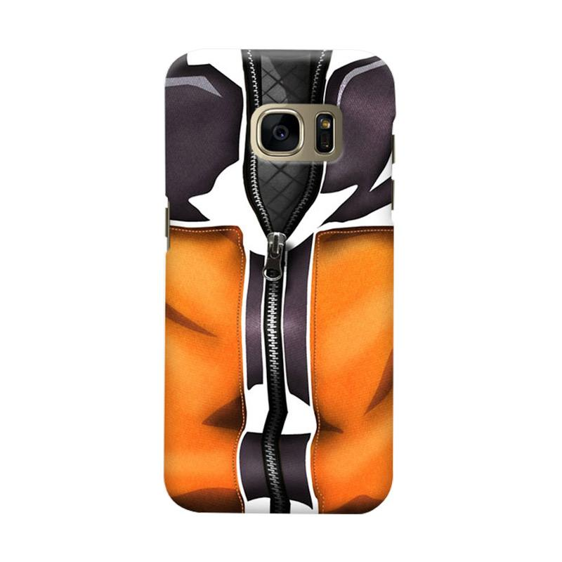 Indocustomcase Anime Naruto Character N03 Cover Casing for Samsung Galaxy S7 Edge