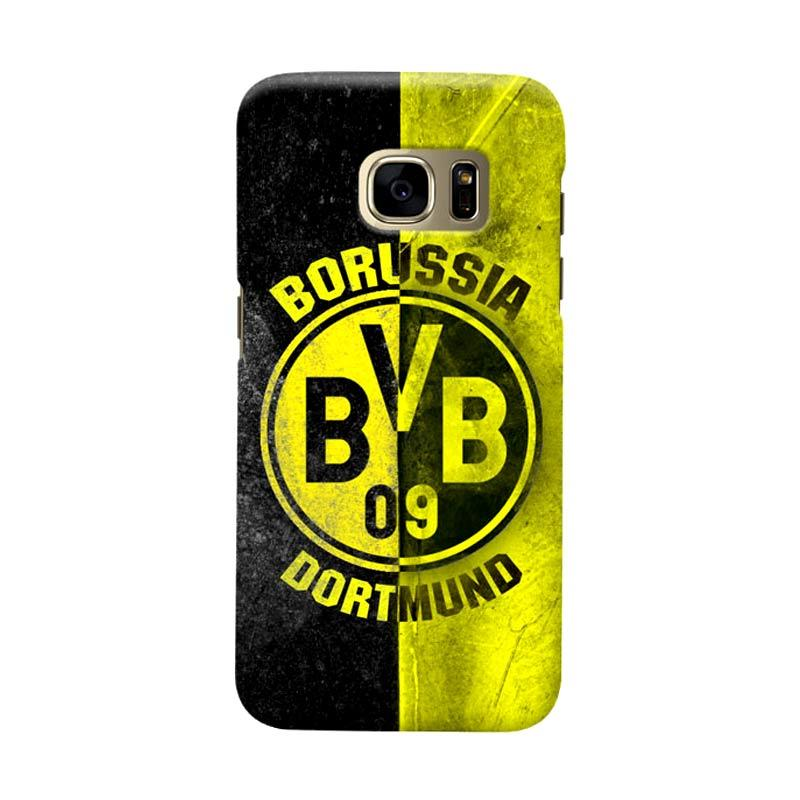 Indocustomcase BVB Borussia Dortmund Cover Casing for Samsung Galaxy S6