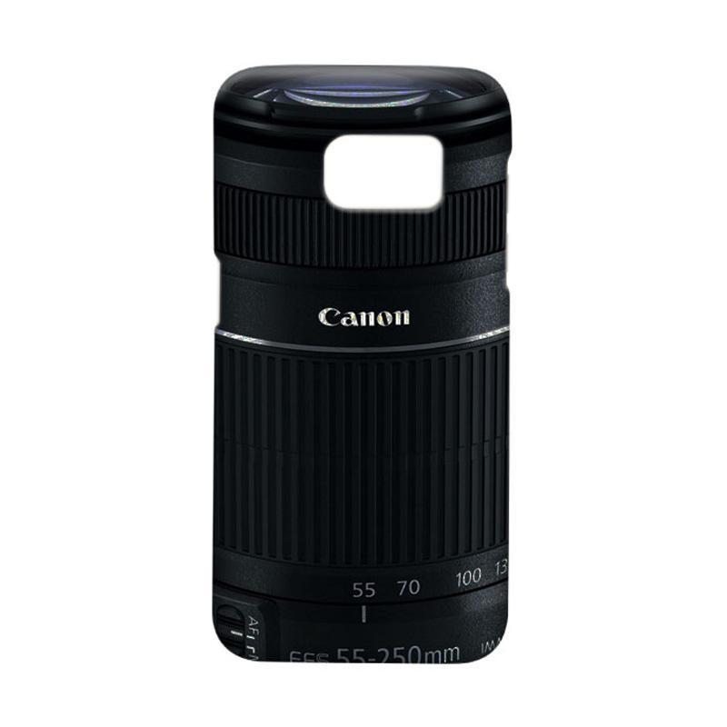 Indocustomcase Canon Tele Lens Camera Casing for Samsung Galaxy S7 Edge
