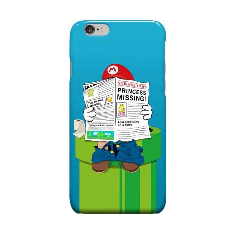 Indocustomcase Cartoon Mario Bross Casing for Apple iPhone 6 Plus or 6S Plus