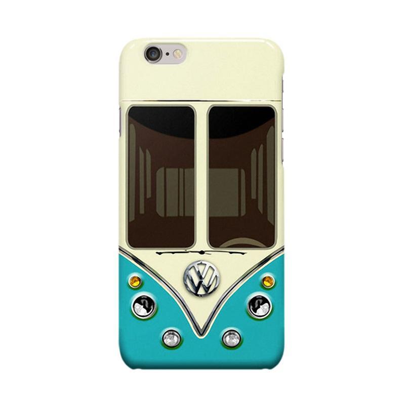 Indocustomcase SC Adventure VW Cover Casing for iPhone 6 Plus or 6S Plus - Blue
