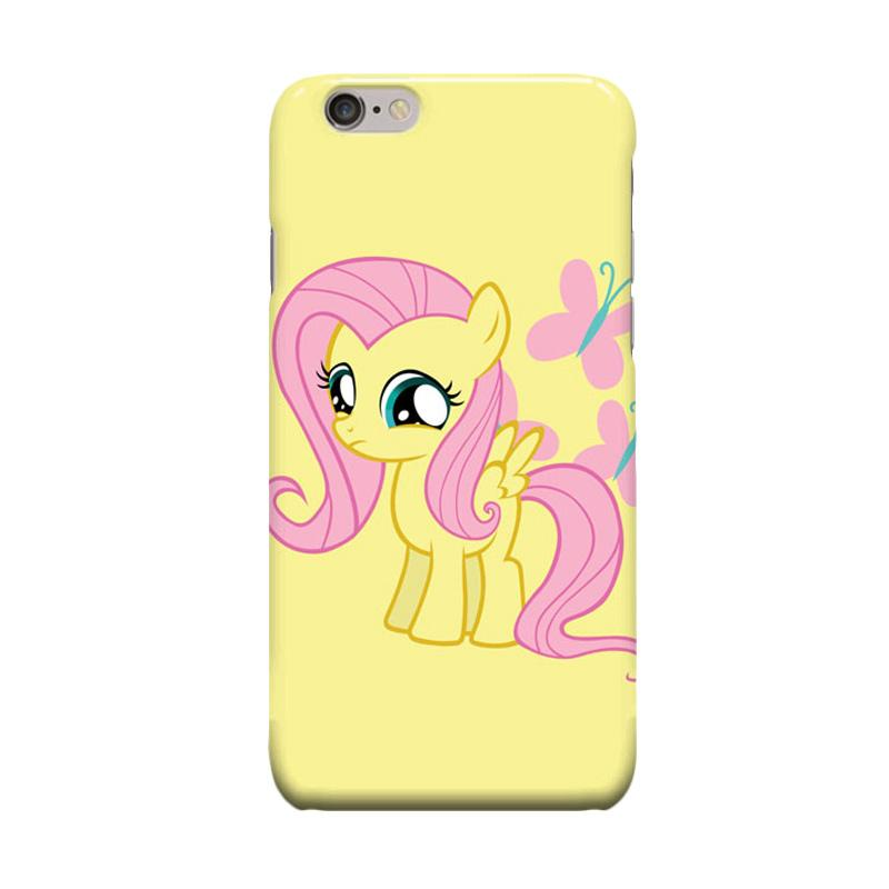 Indocustomcase Cartoon Little Pony Casing for Apple iPhone 6 Plus or 6S Plus
